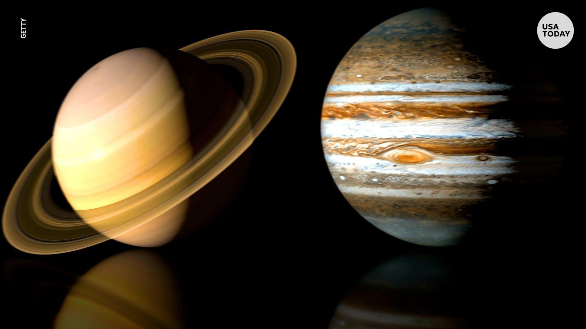 Le immagini di Saturno e Giove sono reali, prese dal Massachusetts Telescope